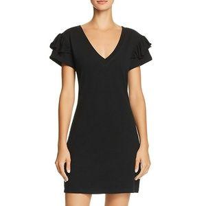 PAM & GELA Ruffle Sleeve Tee Shirt Mini Dress NWT